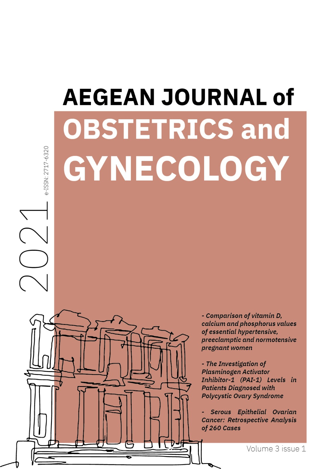 View Vol. 3 No. 1 (2021): Aegean Journal of Obstetrics and Gynecology