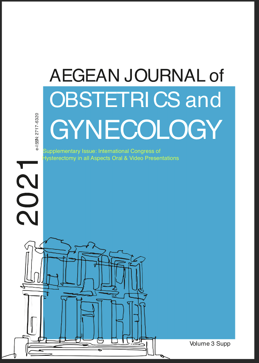 View Vol. 3 No. S1 (2021): Special Issue:The Supplementary Issue: International Congress of Hysterectomy in all Aspects Oral & Poster Presentations